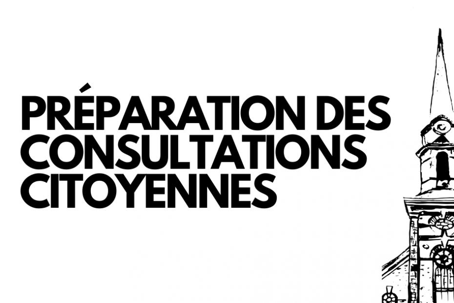 Préparation des consultations